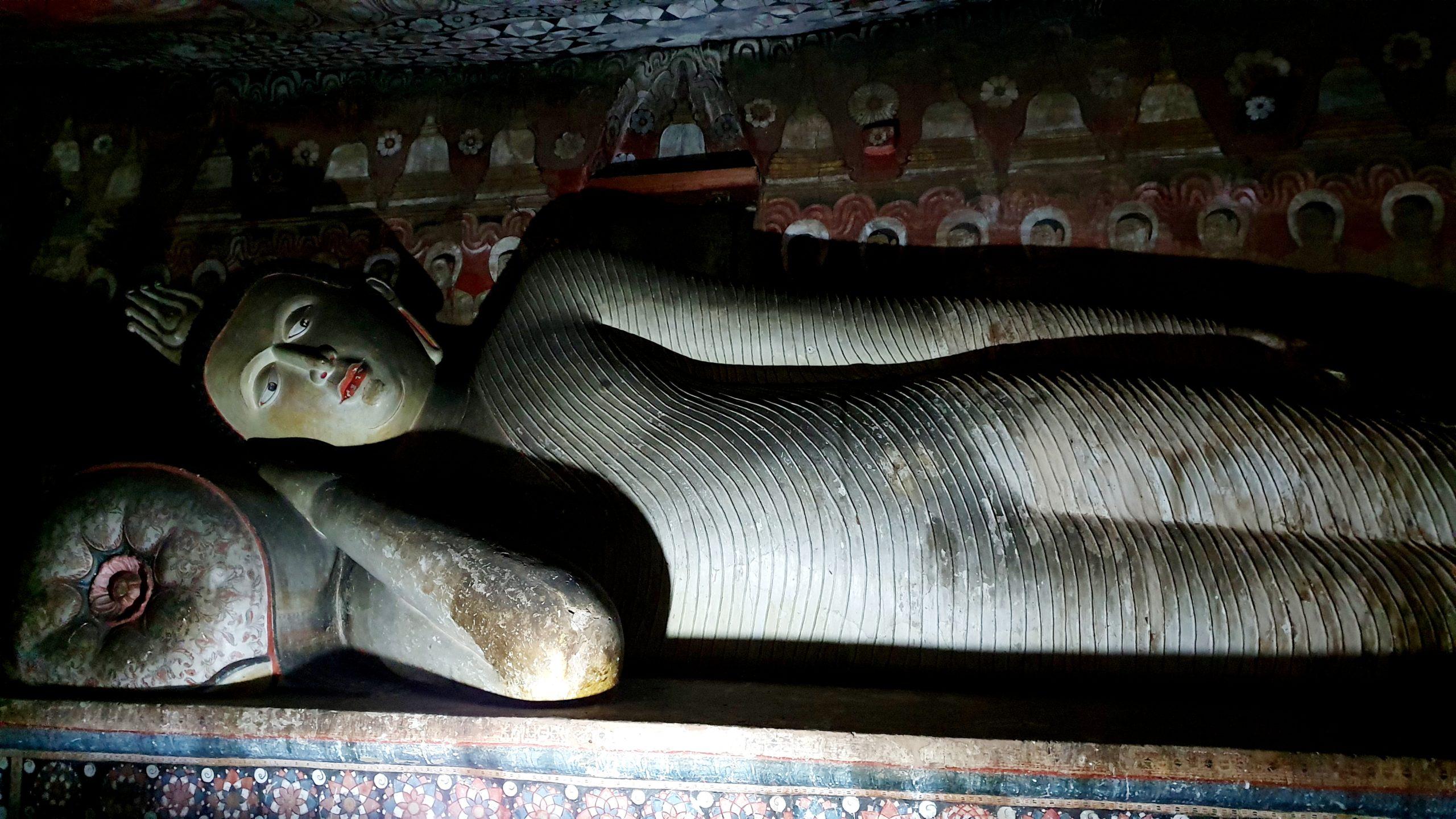Złota Świątynia w Dambulla Sri Lanka