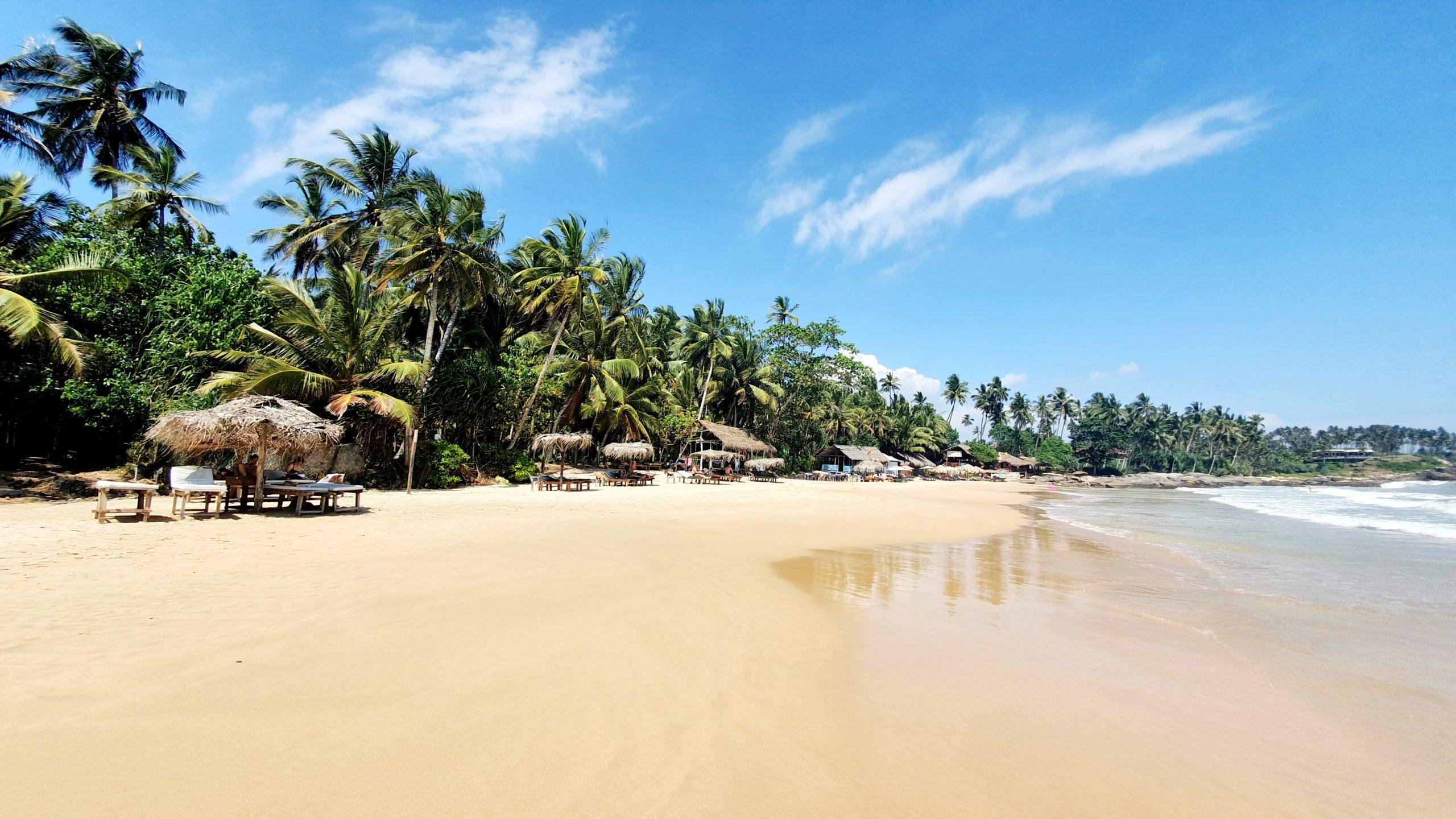 Goyambokka Beach Sri Lanka południowe wybrzeże