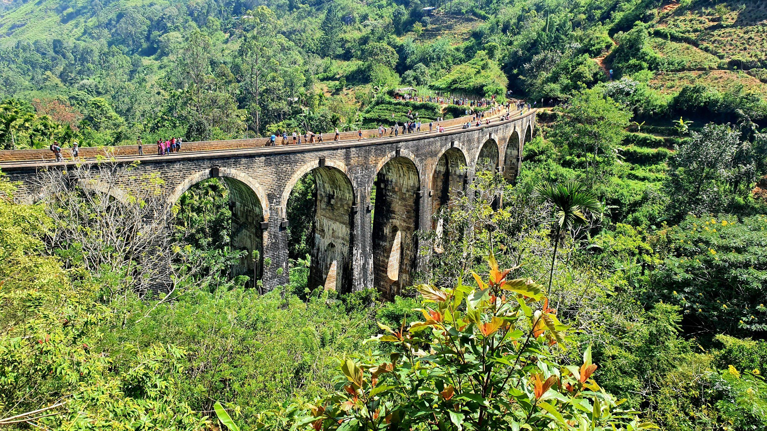 Nine Arch Bridge Sri Lanka południowe wybrzeże