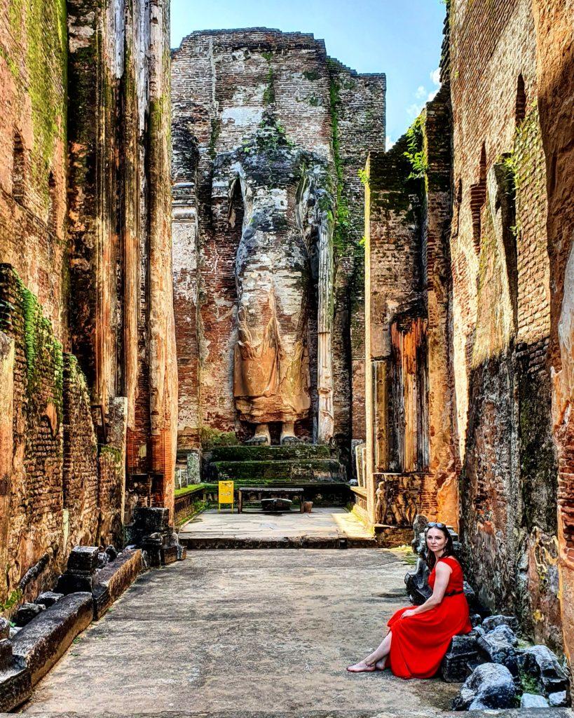 Polonnaruwa warto zwiedzić na Sri Lanka