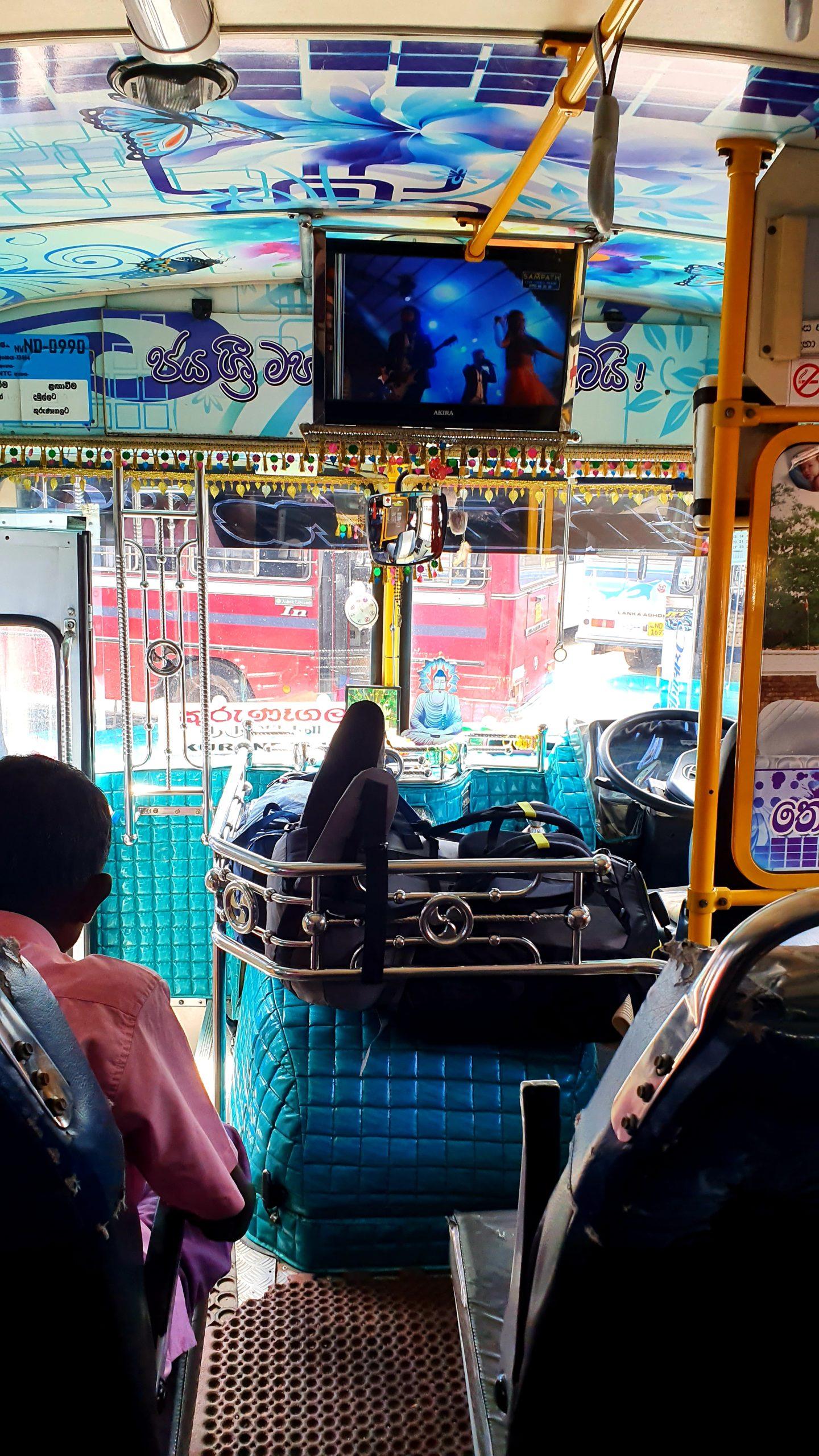 Sri Lanka autobusy