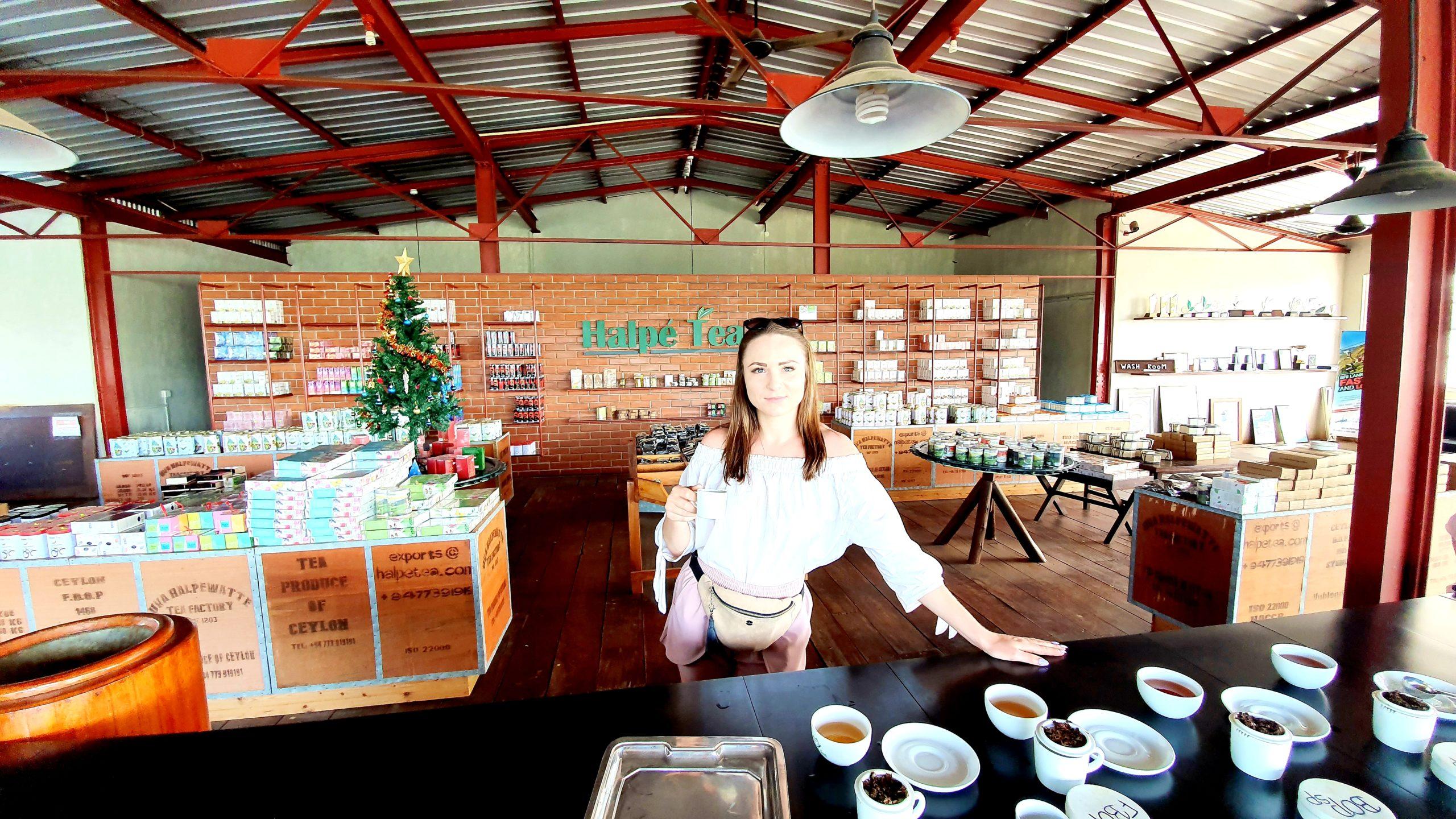 Fabryka herbaty Sri Lanka południowe wybrzeże