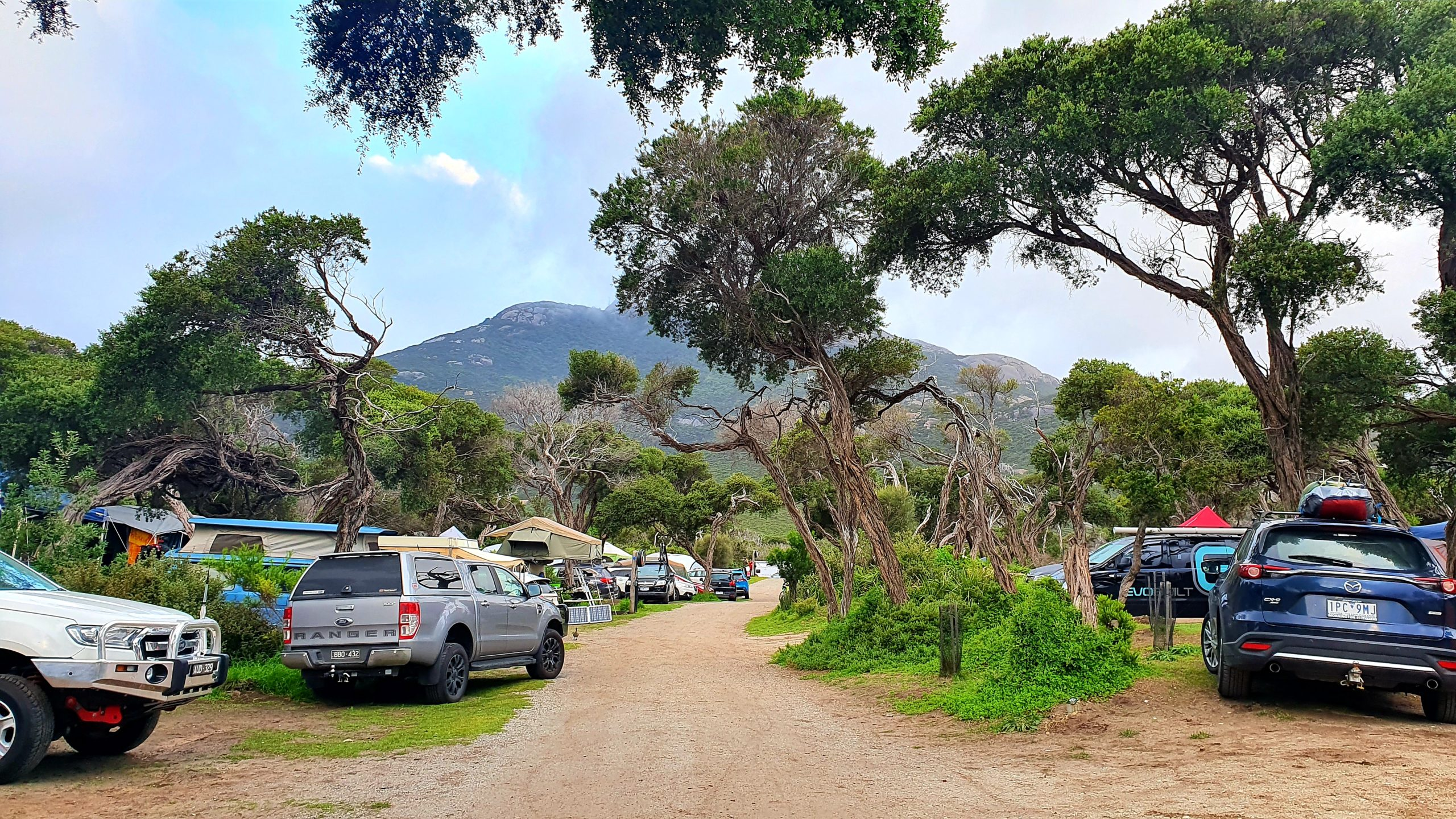 Tidal River campground
