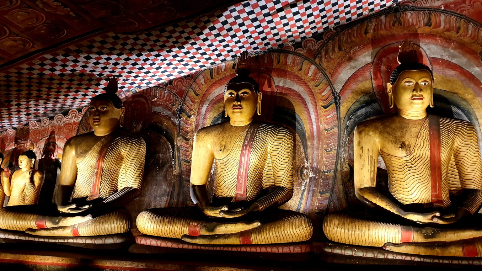 The Golden Temple of Dambulla is one of the top things to do in Sri Lanka