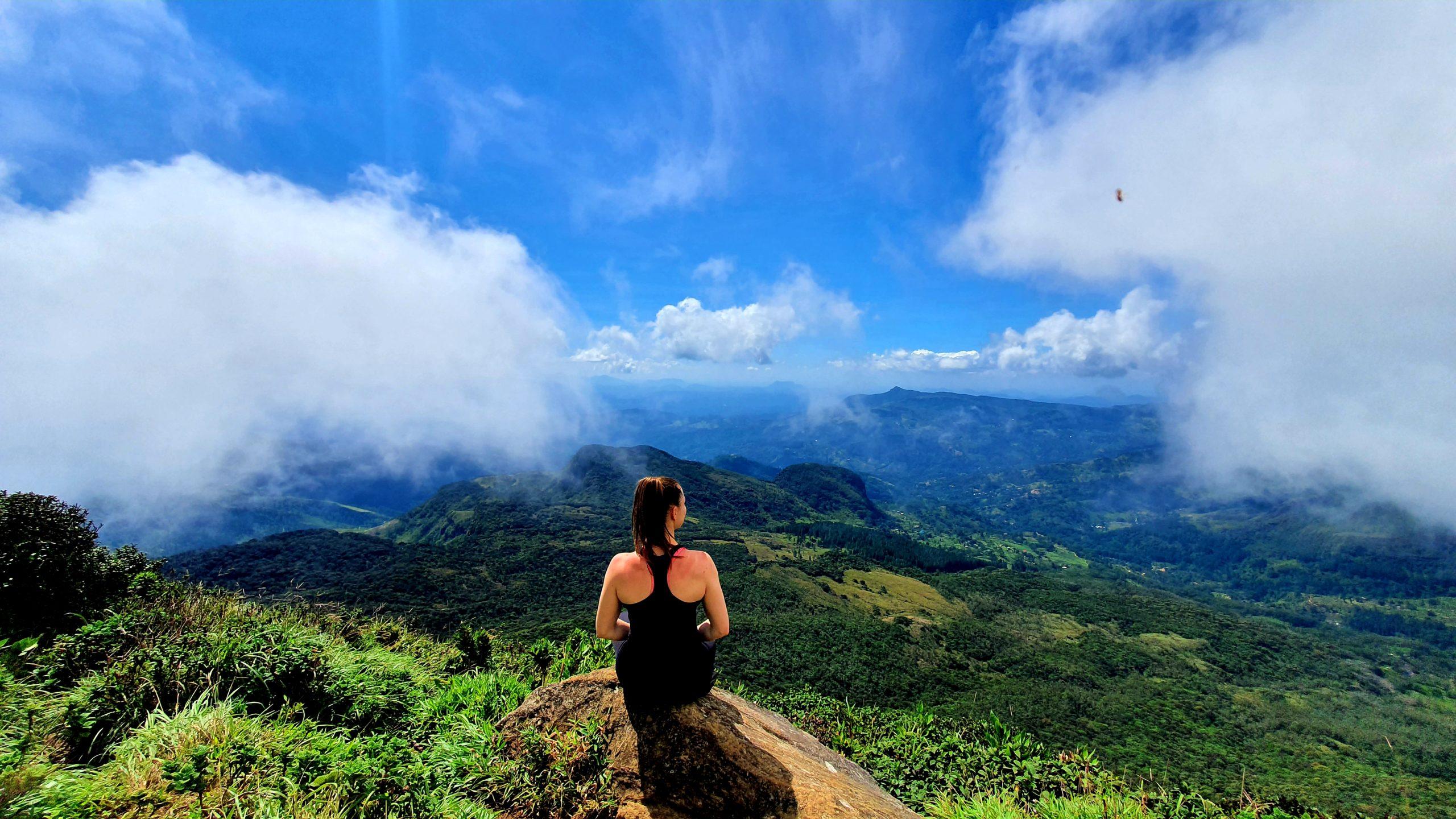 Knuckles Range in Sri Lanka