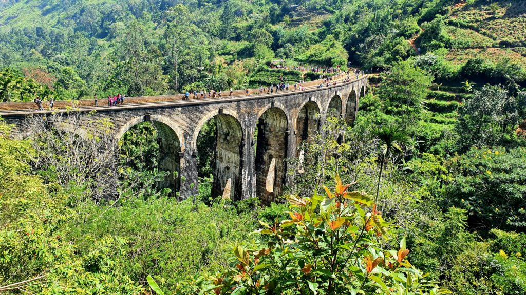 Nine Arch Bridge is a must see place in Sri Lanka