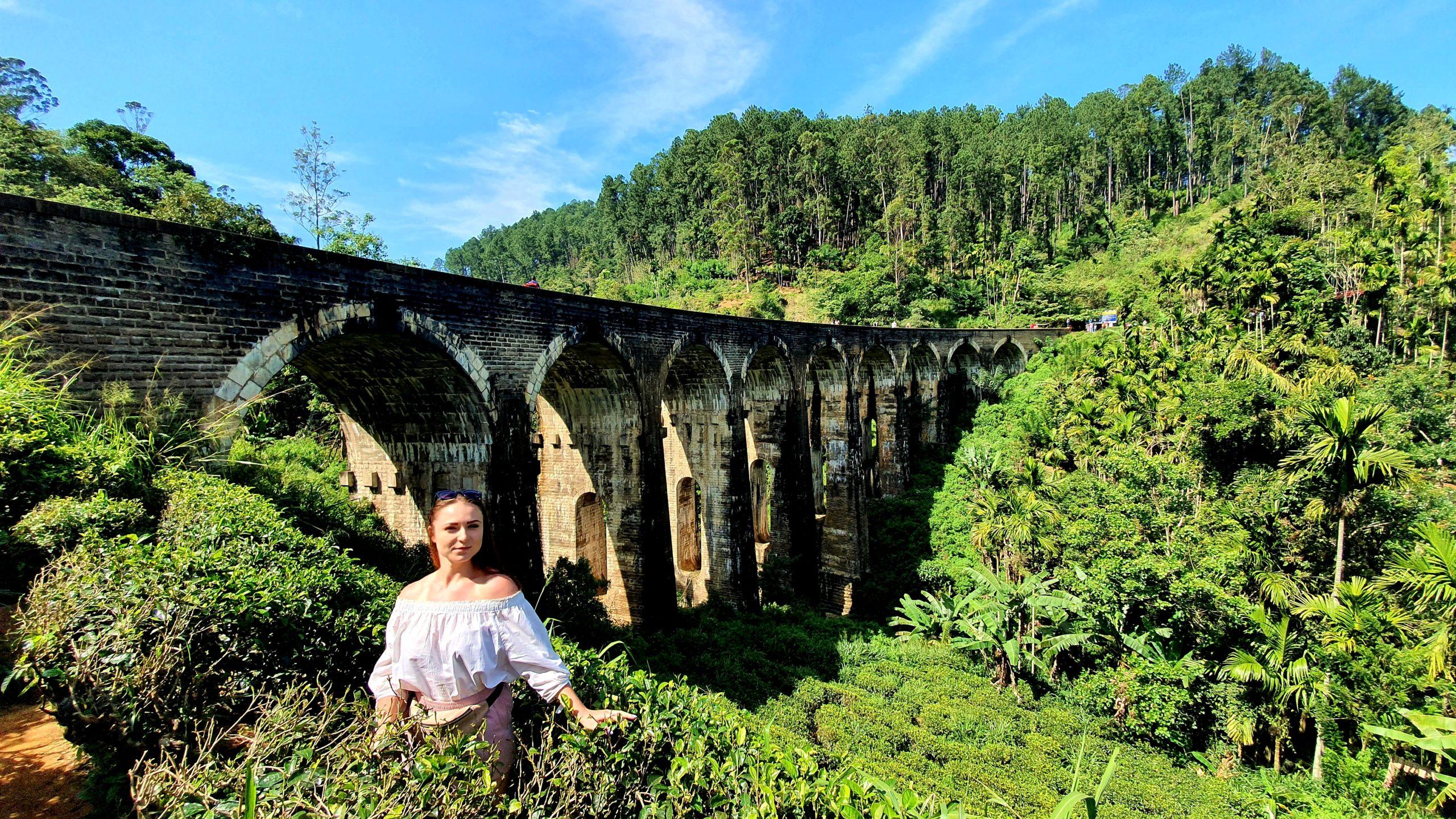 Nine Arch Bridge Sri Lanka 3 week itinerary