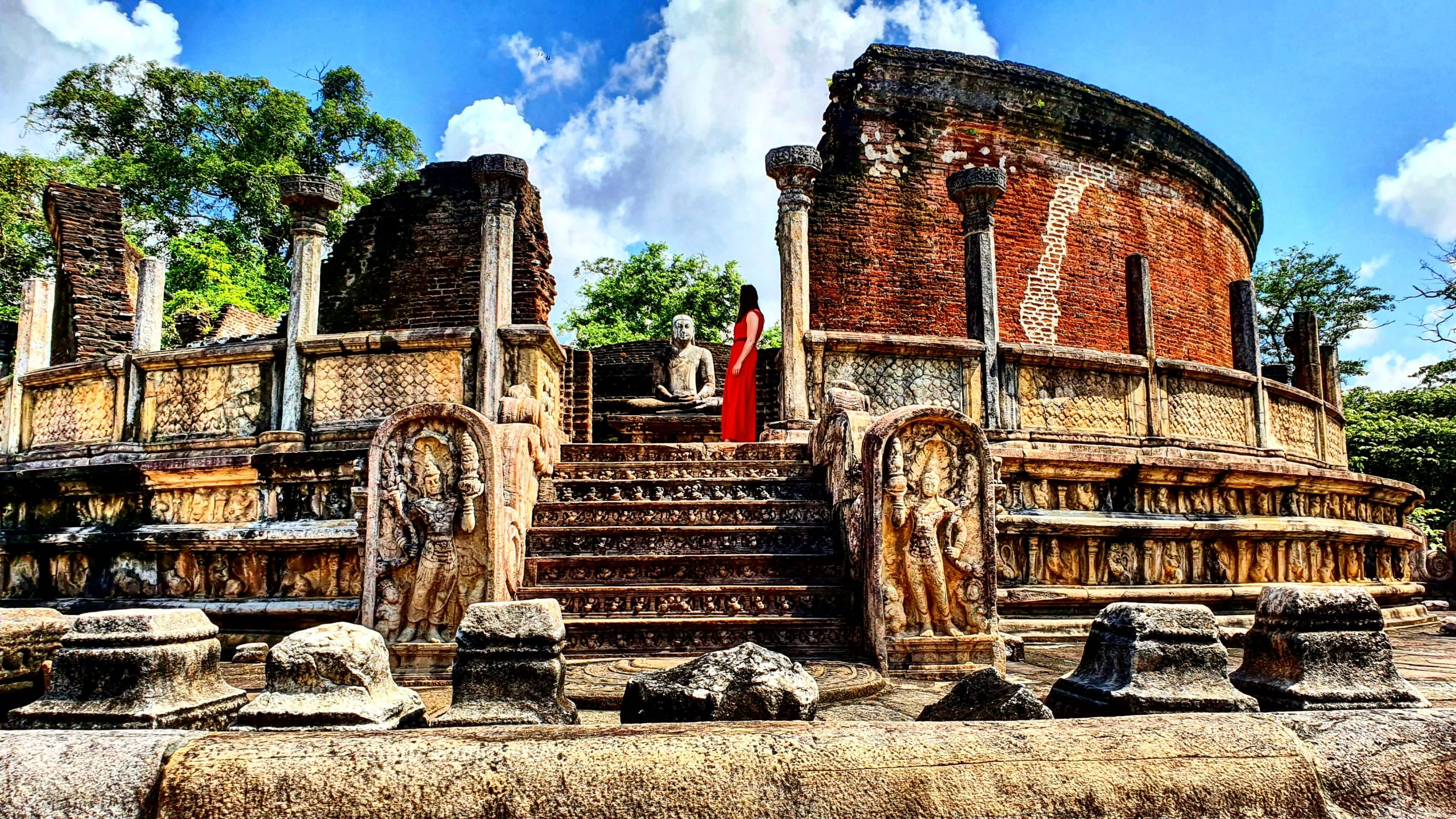 Polonnaruwa is one of the top things to do in Sri Lanka