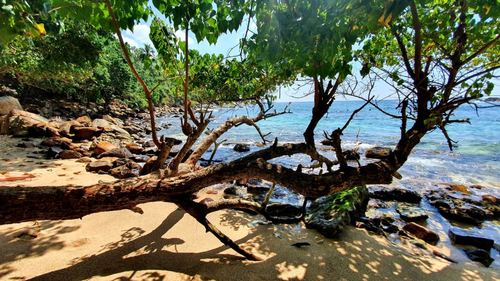 Secret Beach is a must see place in Sri Lanka