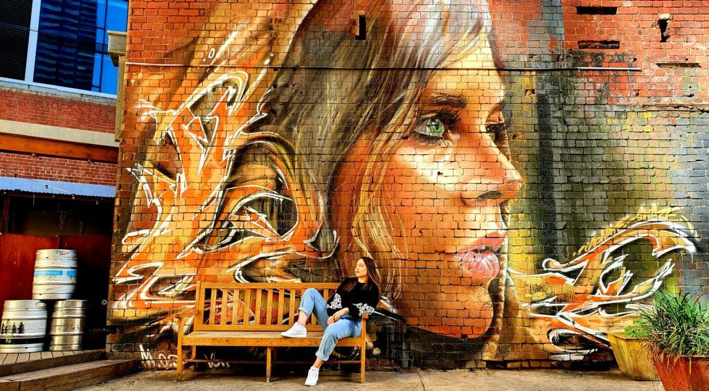 223 Franklin Street Melbourne sztuka uliczna