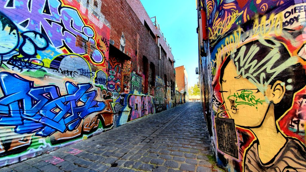 436 Queen Street Melbourne sztuka uliczna
