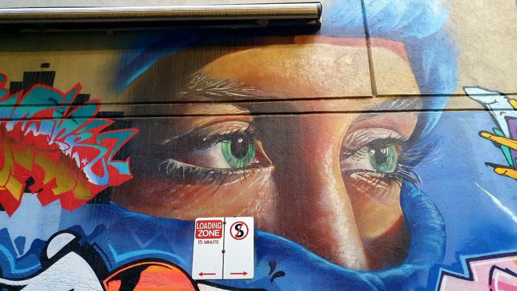 Beaney Lane Melbourne sztuka uliczna