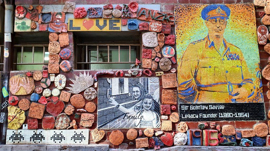 Drewery Lane street art Melbourne
