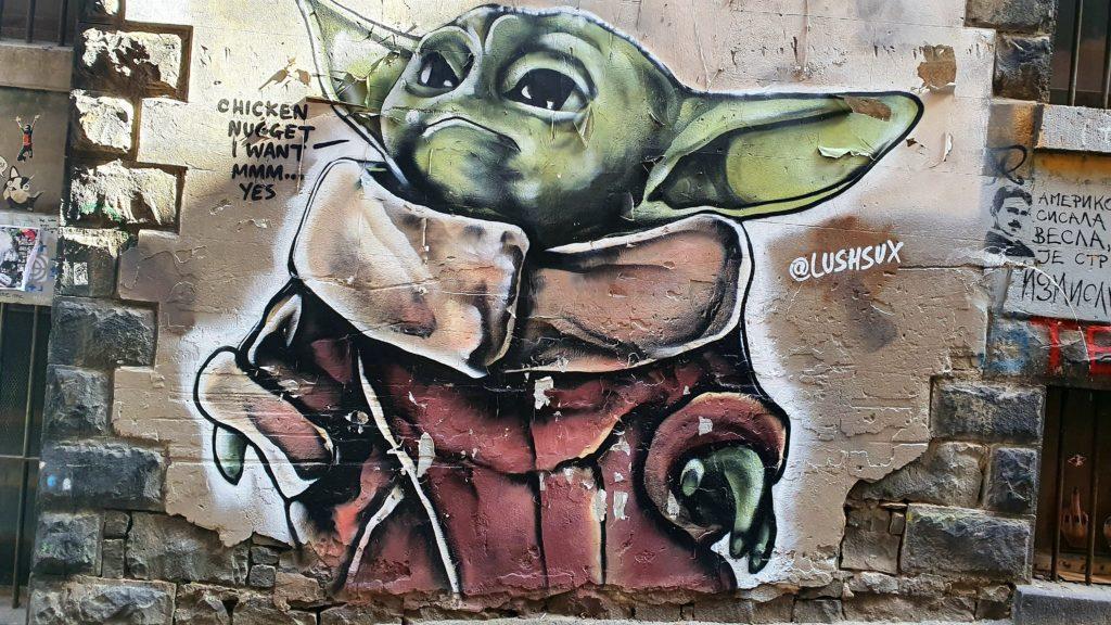 Higson Lane street art Melbourne