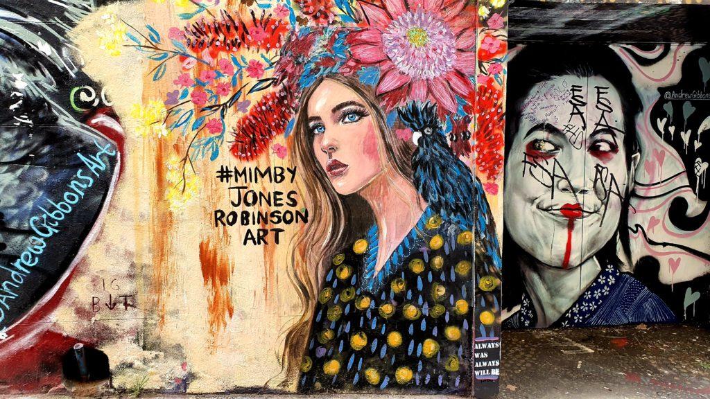 Hosier Lane street art Melbourne