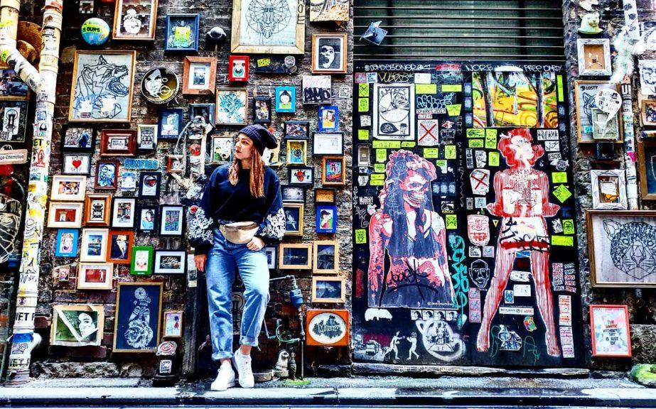 Presgrave Place sztuka uliczna Melbourne