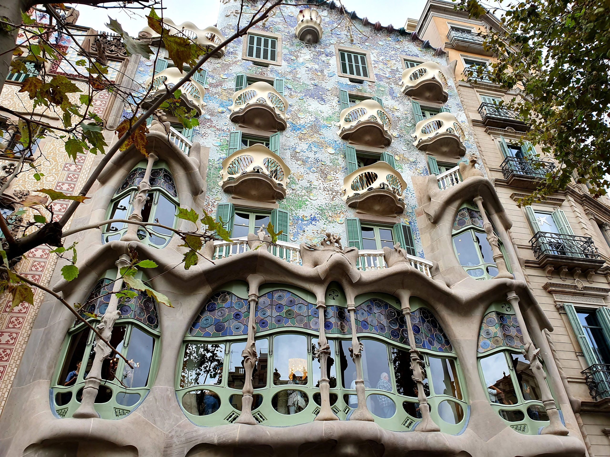 Casa Batlló Barcelona na weekend