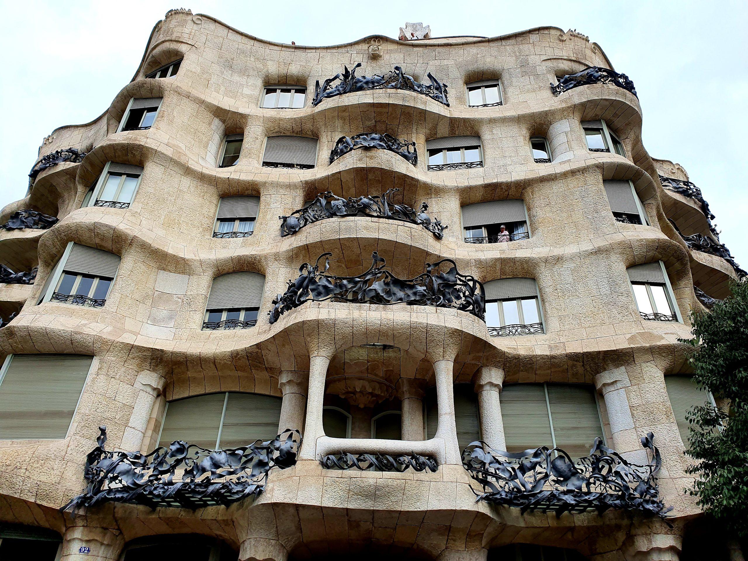 Casa Milà Barcelona na weekend