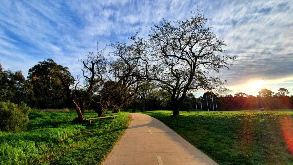 Main Yarra Trail Walking Tracks near Melbourne