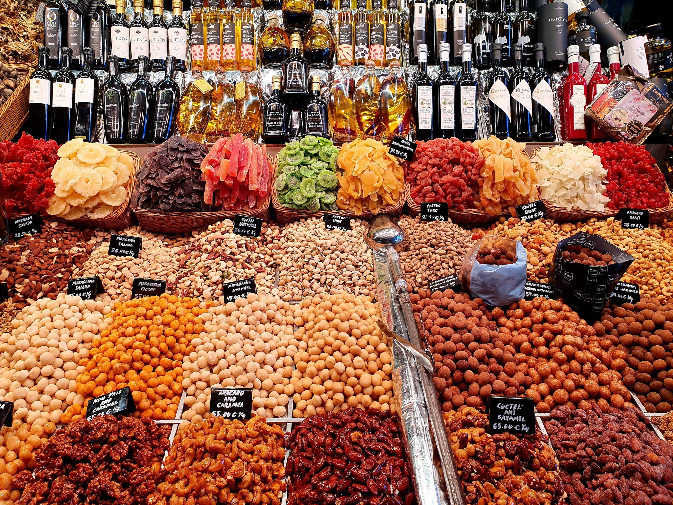 Mercat de la Boqueria weekend in Barcelona