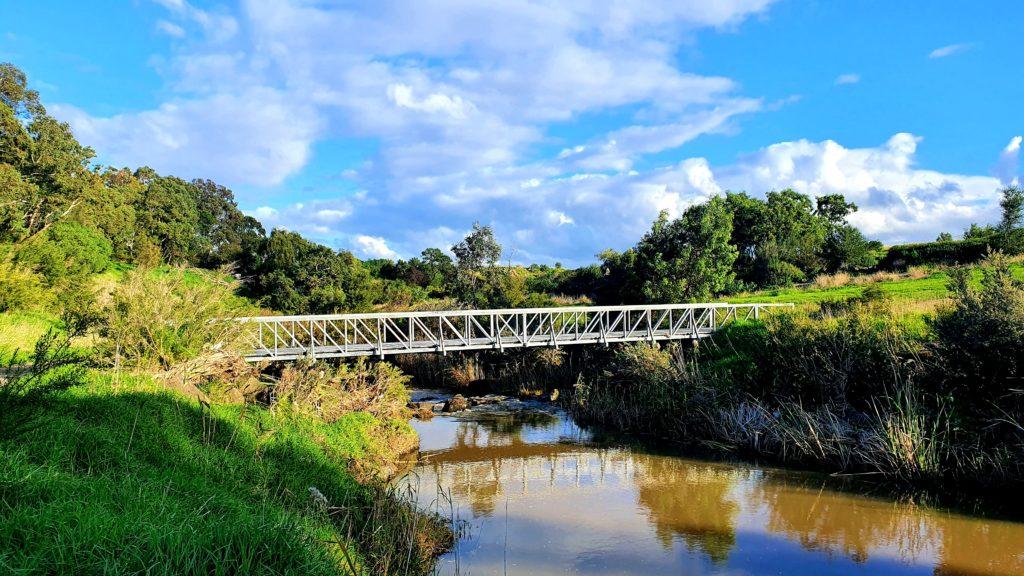 Melbourne szlaki piesze Merri Creek