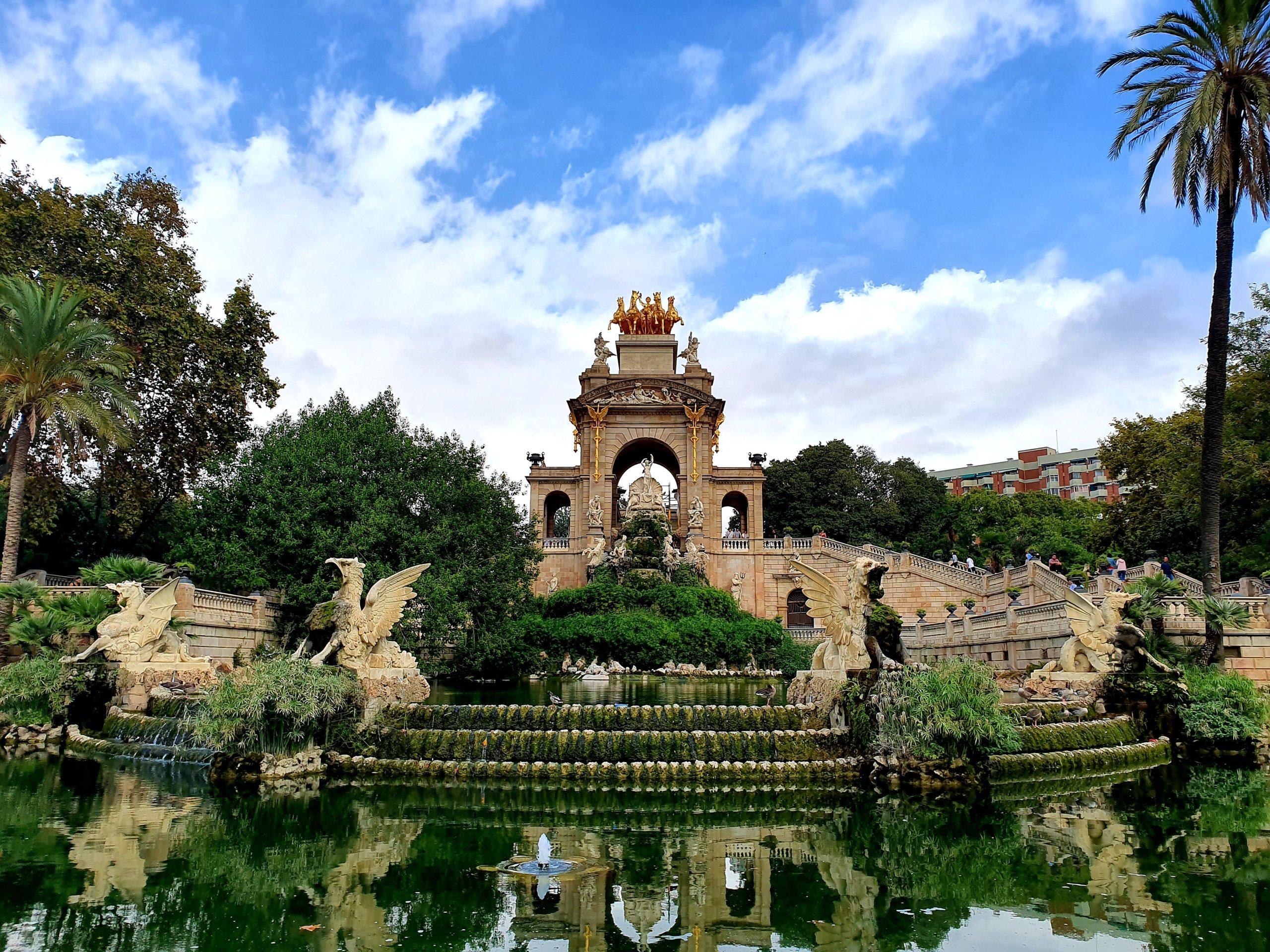 Park de la Ciutadella Barcelona na weekend
