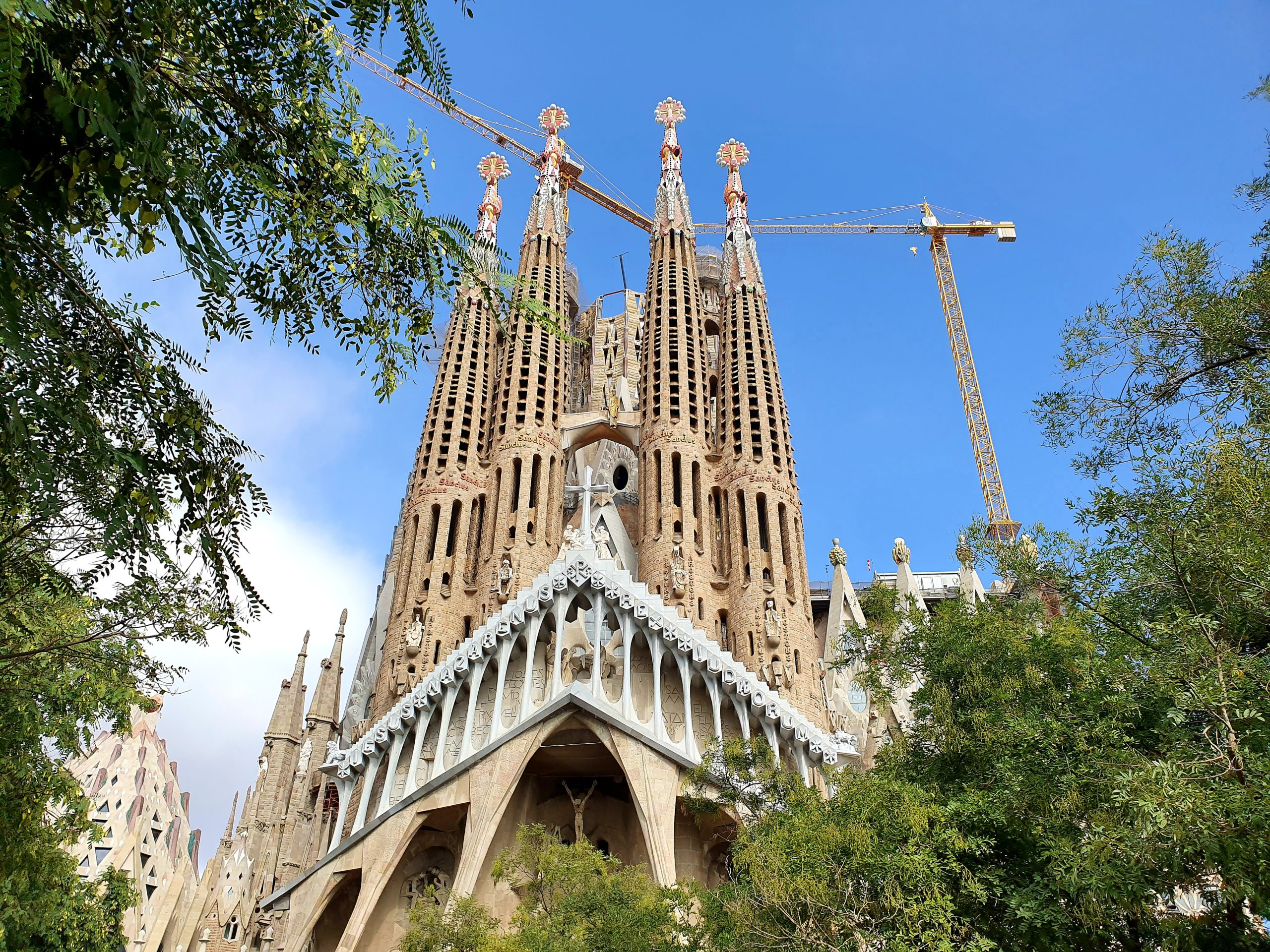 Sagrada Familia Barcelona na weekend