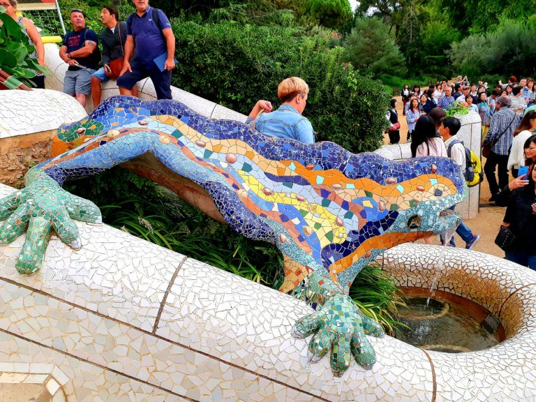 Park Guell weekend in Barcelona