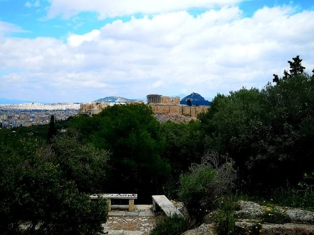 Philopappos Hill weekend in Athens
