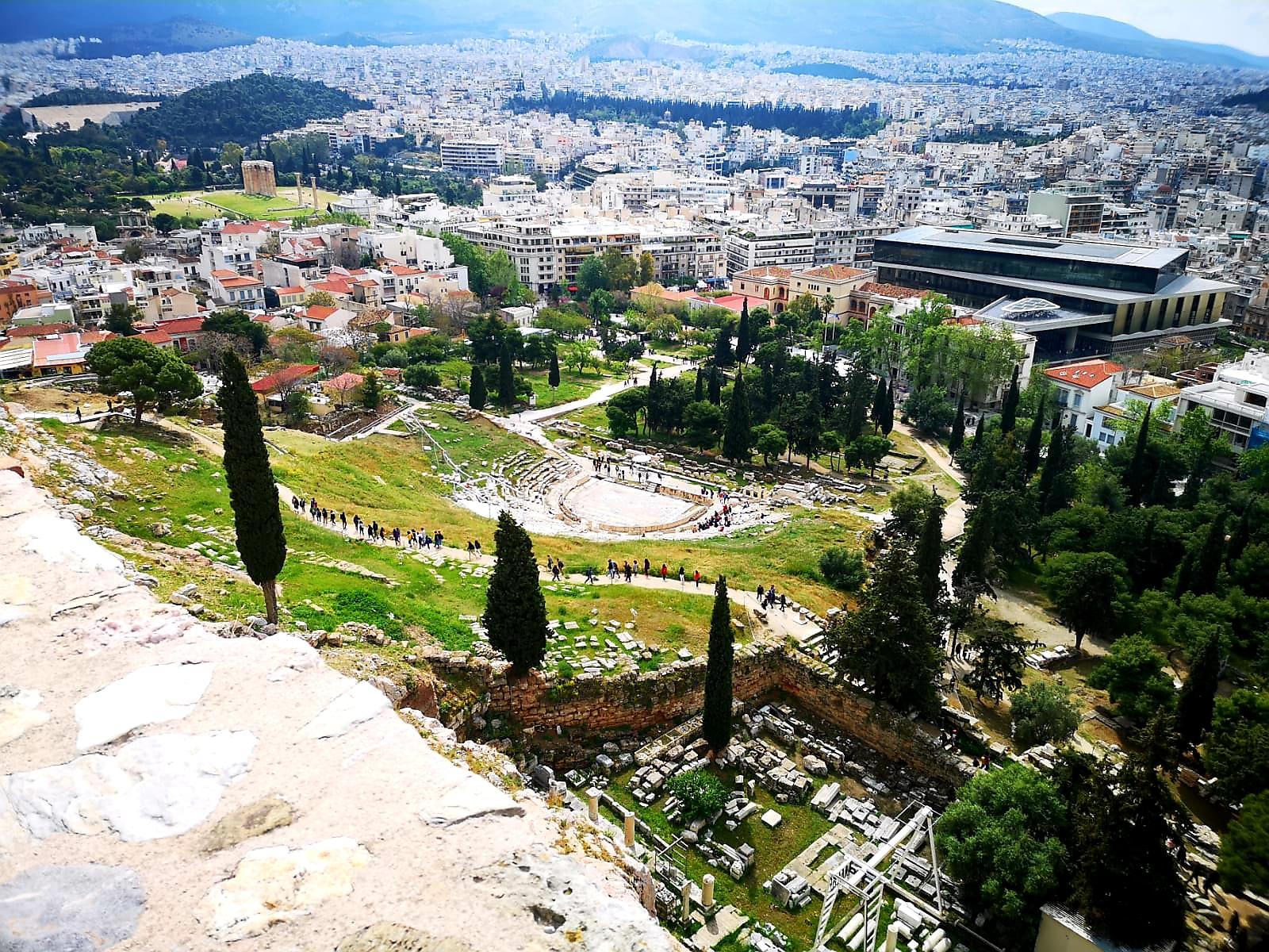 Akropol weekend w Atenach