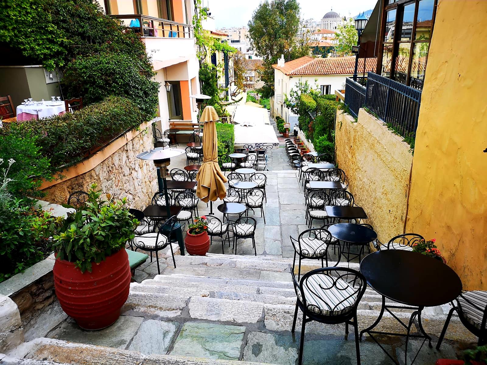 Anafiotika weekend w Atenach