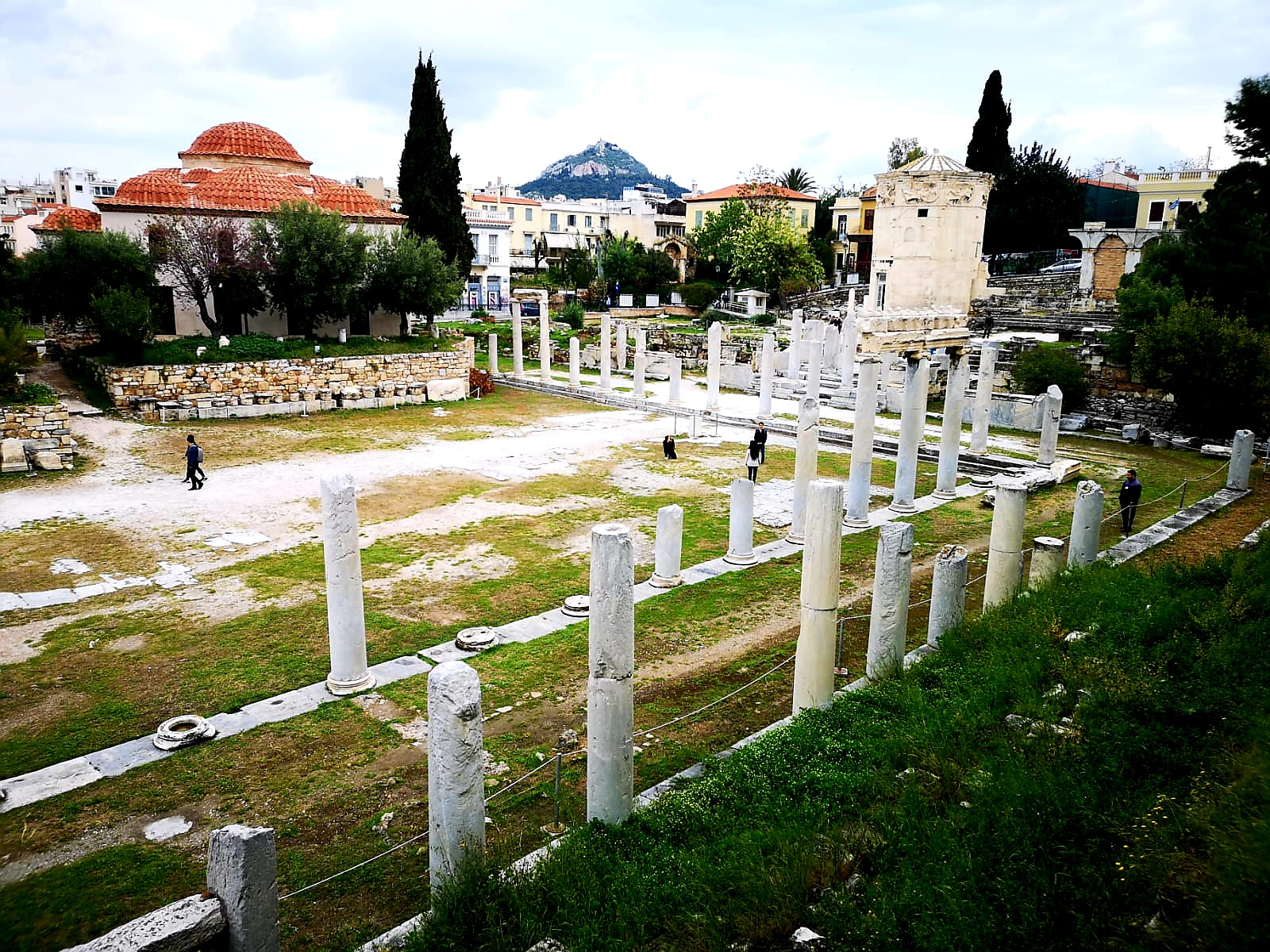 Forum Rzymskie weekend w Atenach