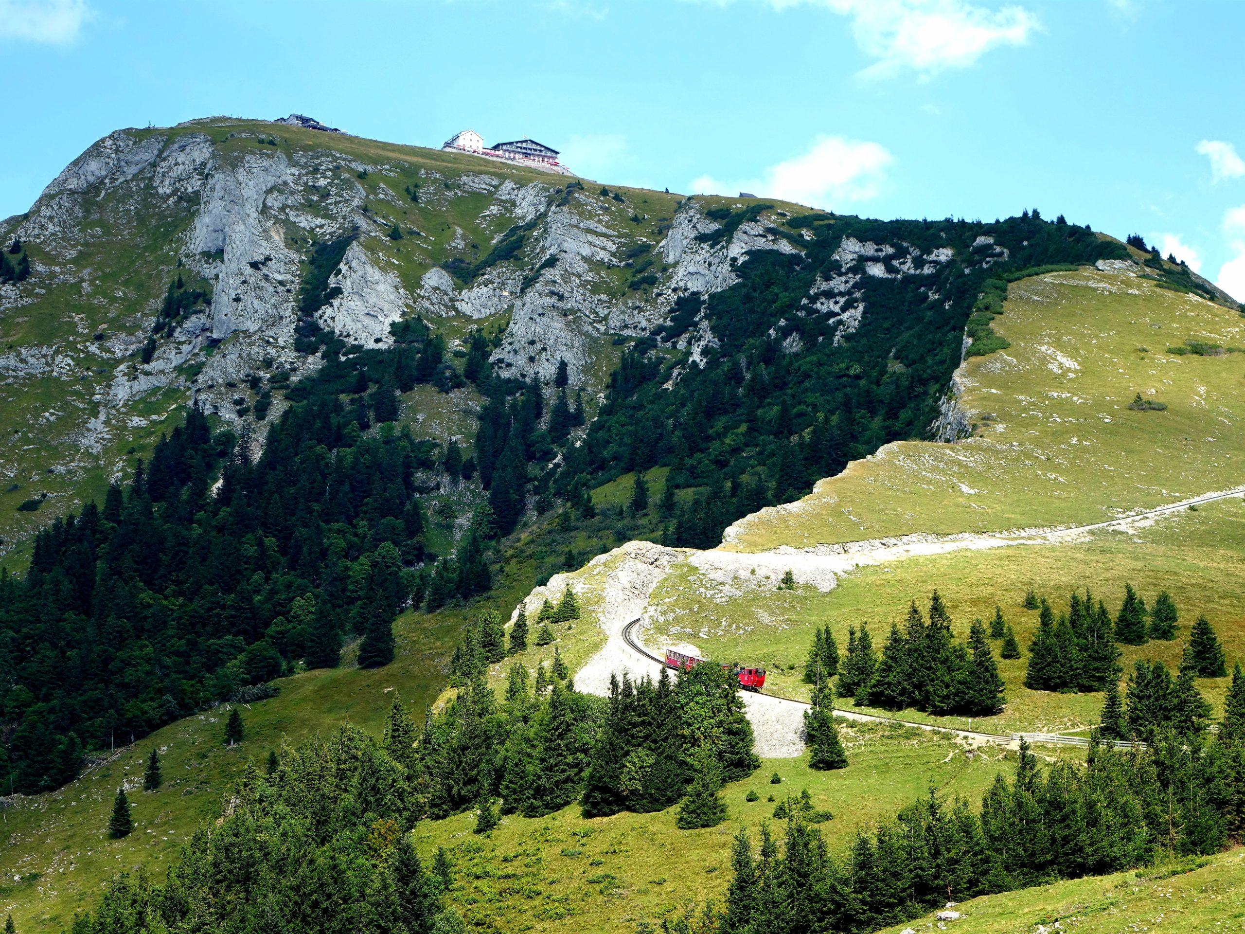 Tydzień w Alpach latem Góra Schafberg