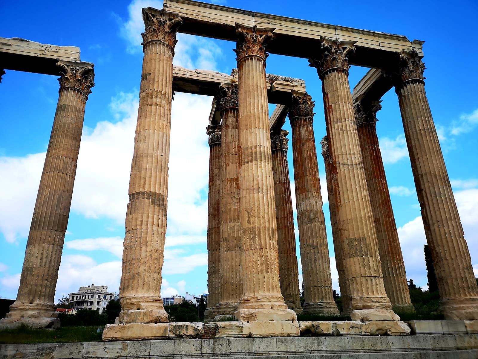 Temple of Olympian Zeus weekend in Athens
