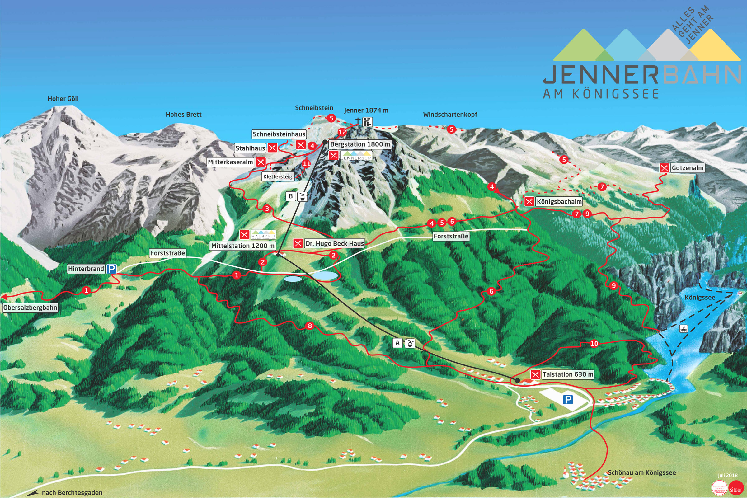 Mount Jenner map