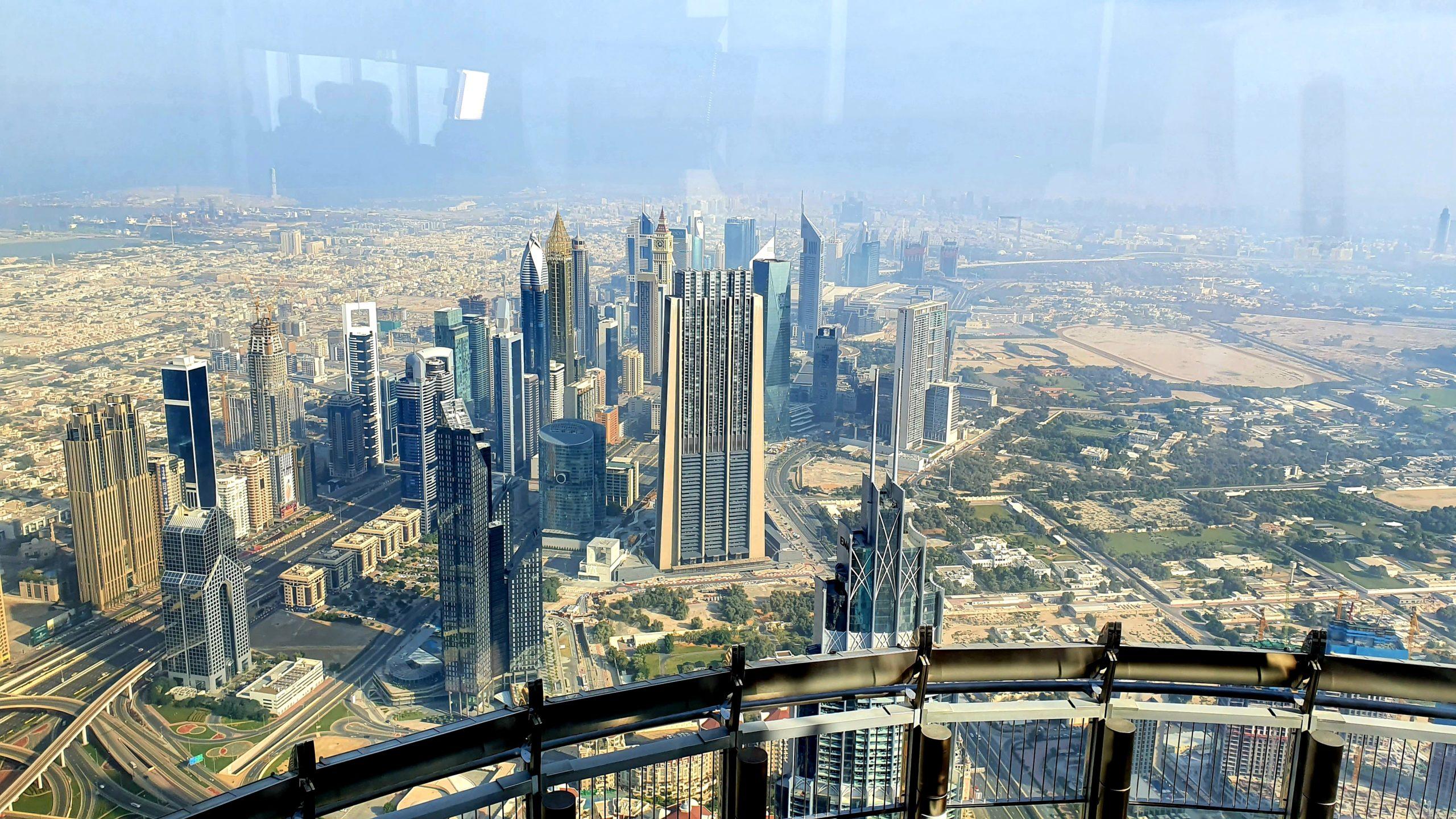 Burj Khalifa dwa dni w Dubaju