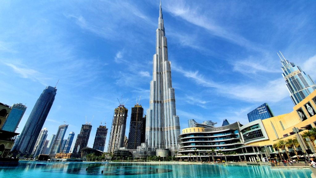 Sylwester w Dubaju Burj Khalifa