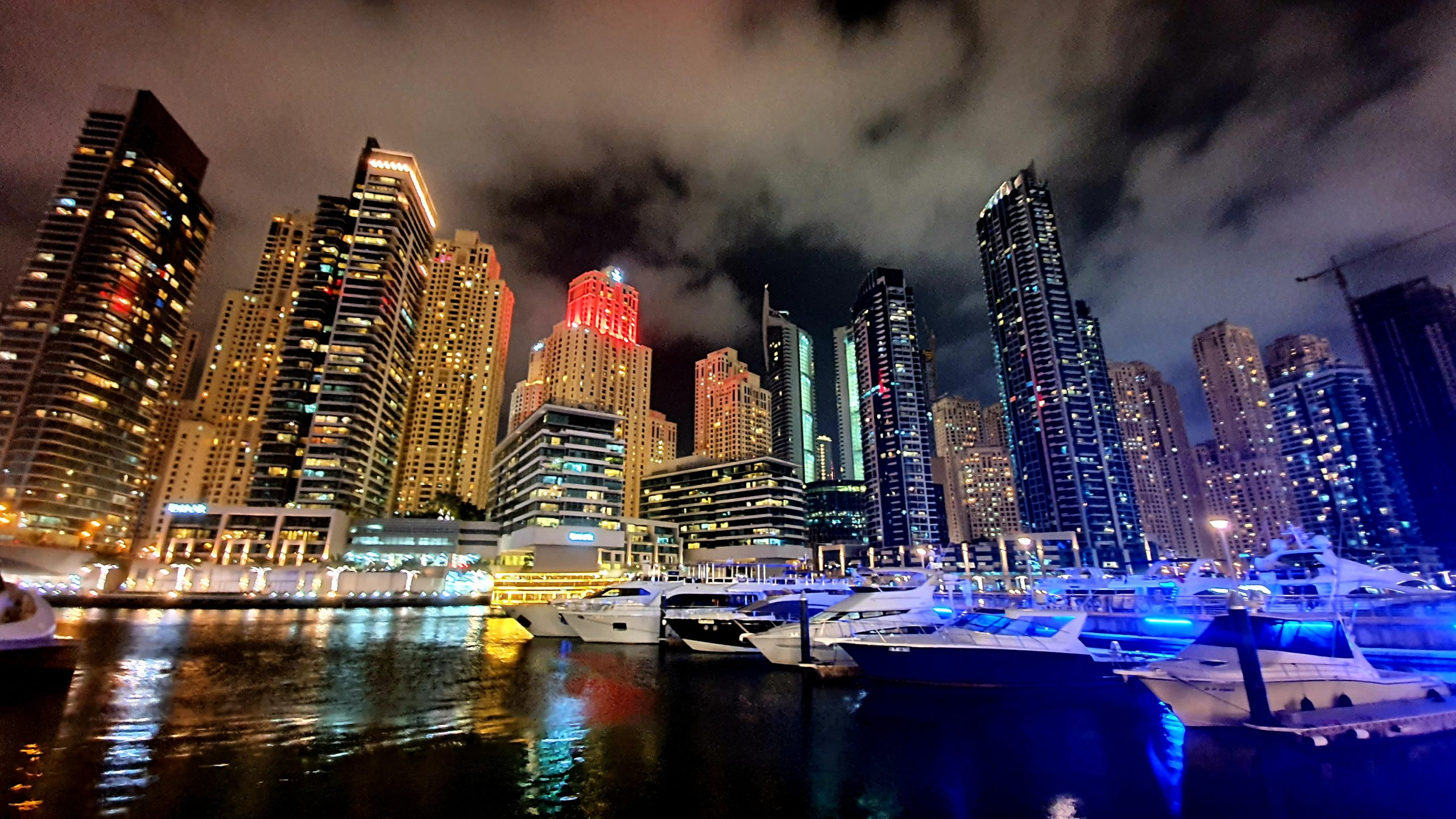 Dubai Marina dwa dni w Dubaju