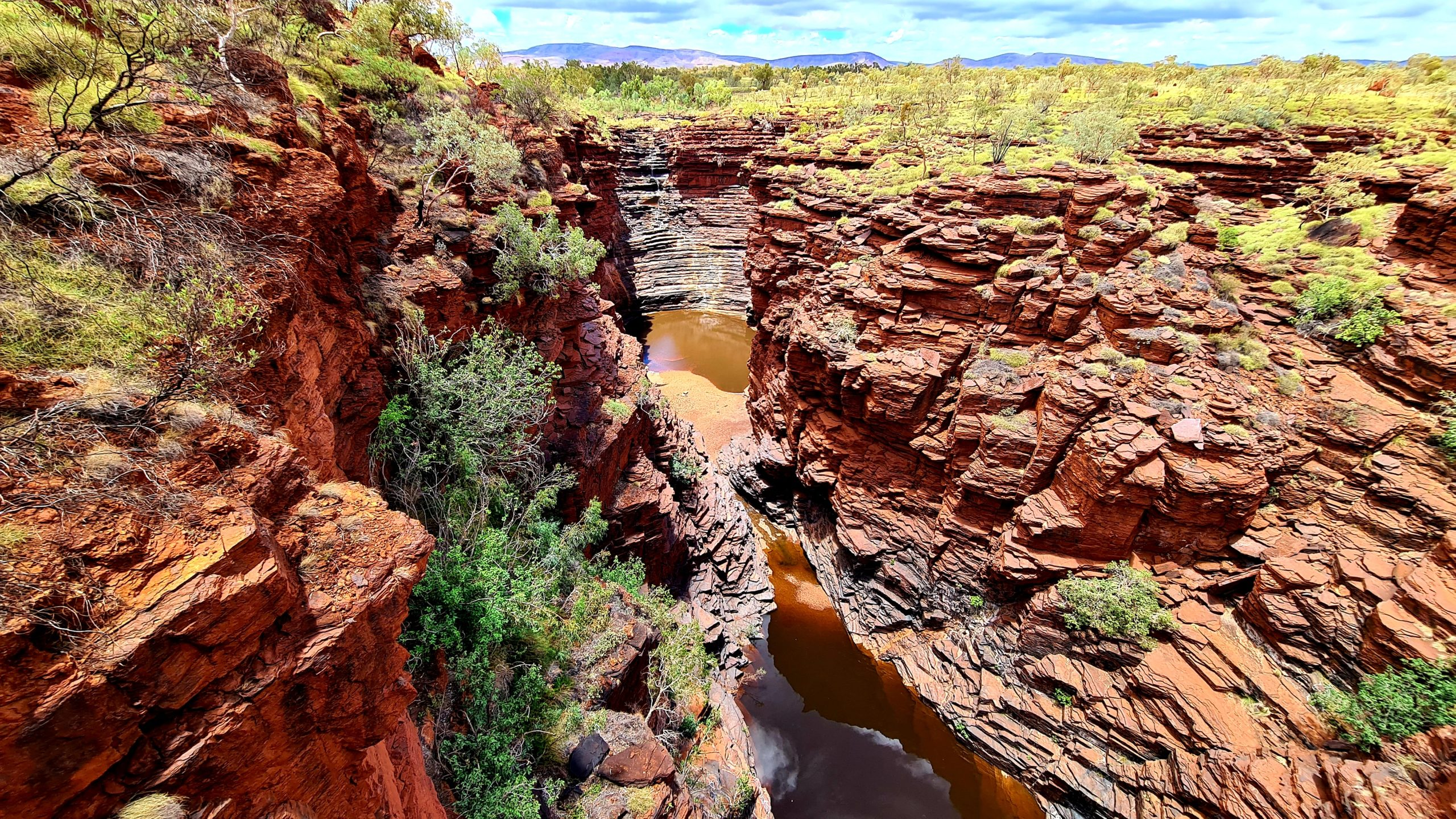 Karijini National Park Joffre Gorge