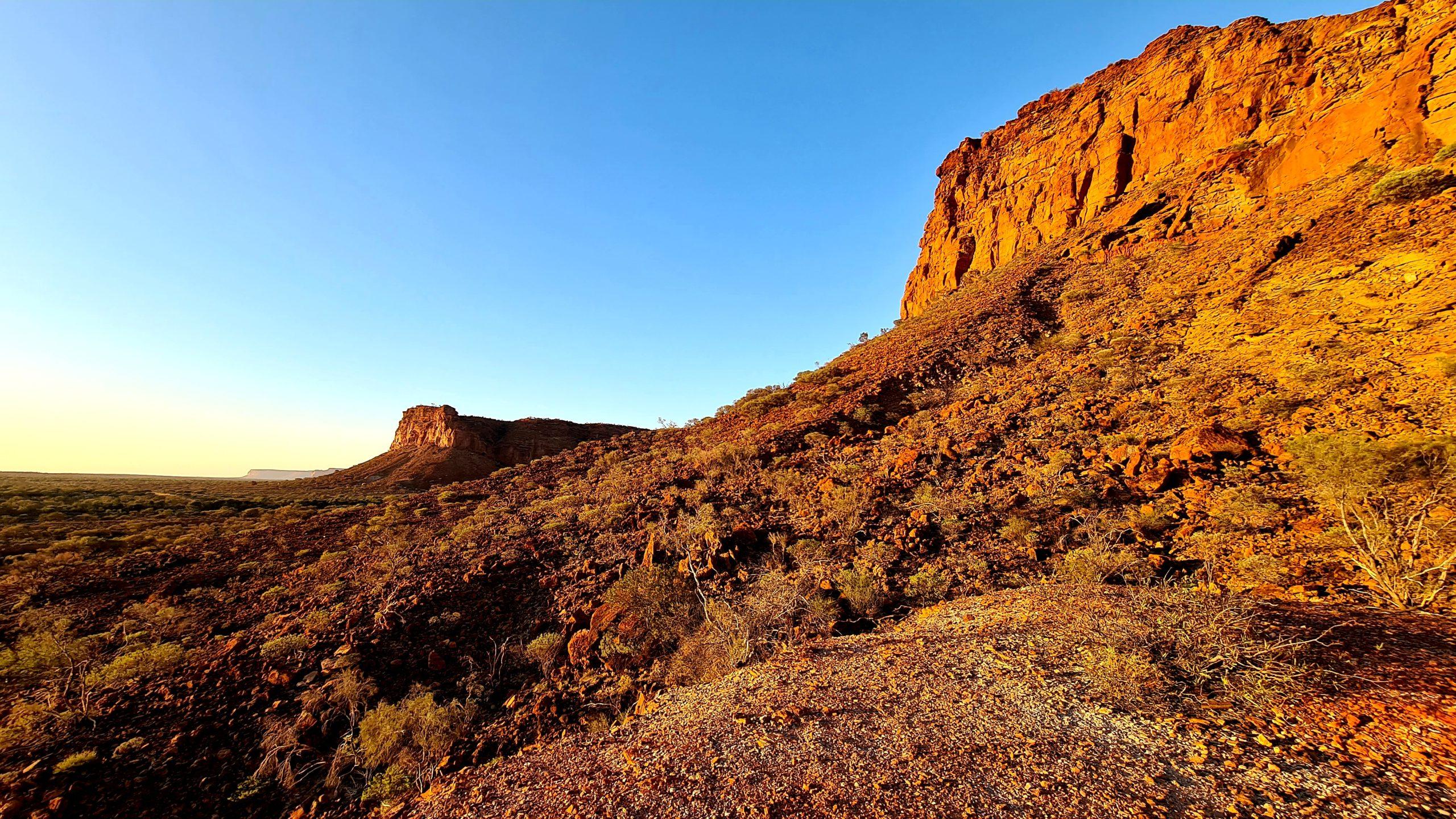Park Narodowy Kennedy Range Sunrise View