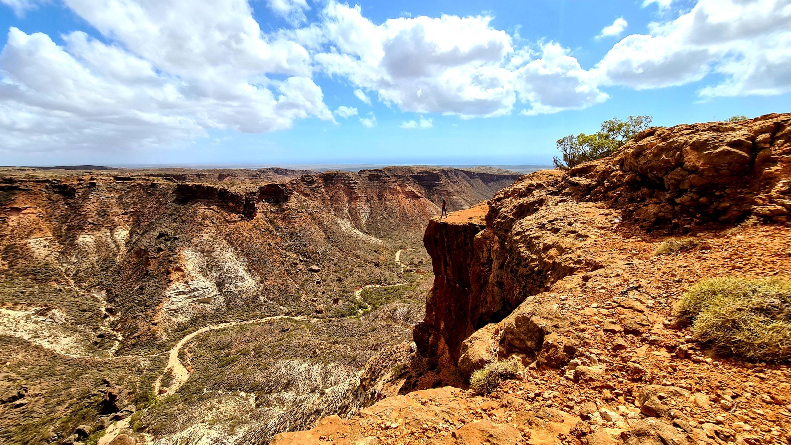 Park Narodowy Cape Range Badjirrajirra walk