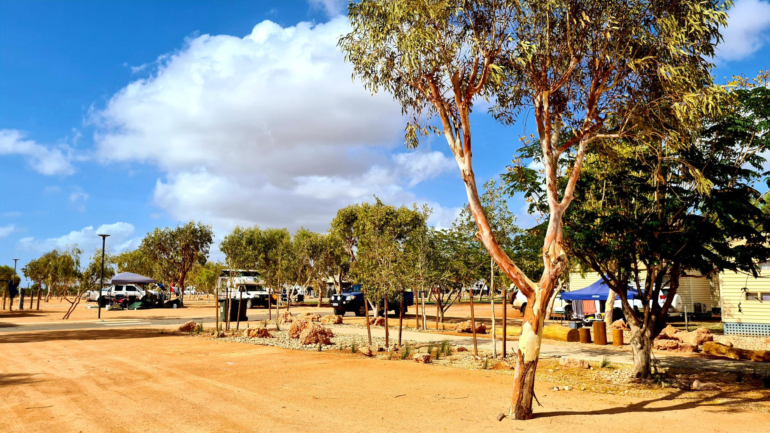 Caravan Park in Kalbarri