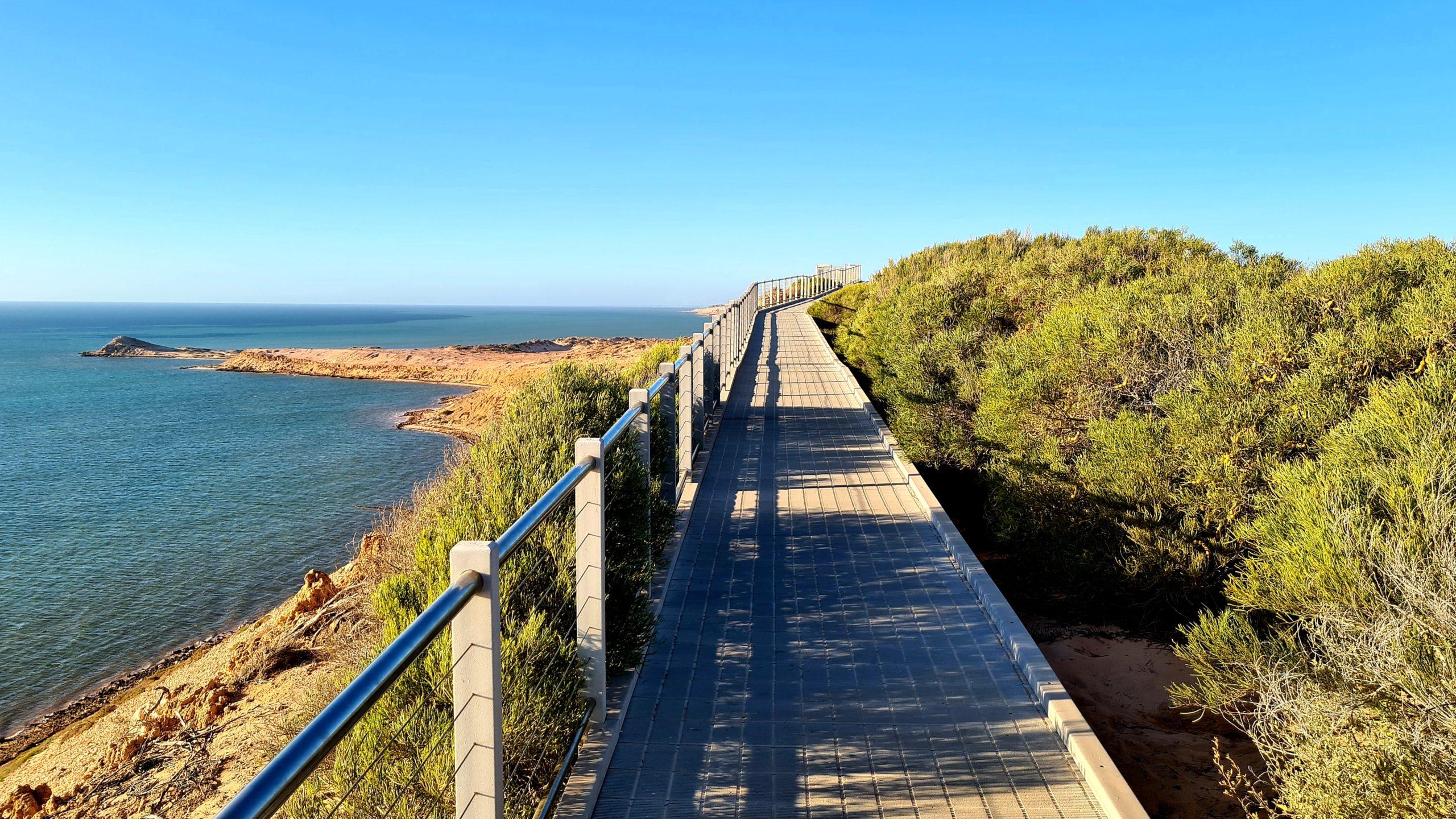 Zatoka Rekina w Zachodniej Australii  Eagle Bluff