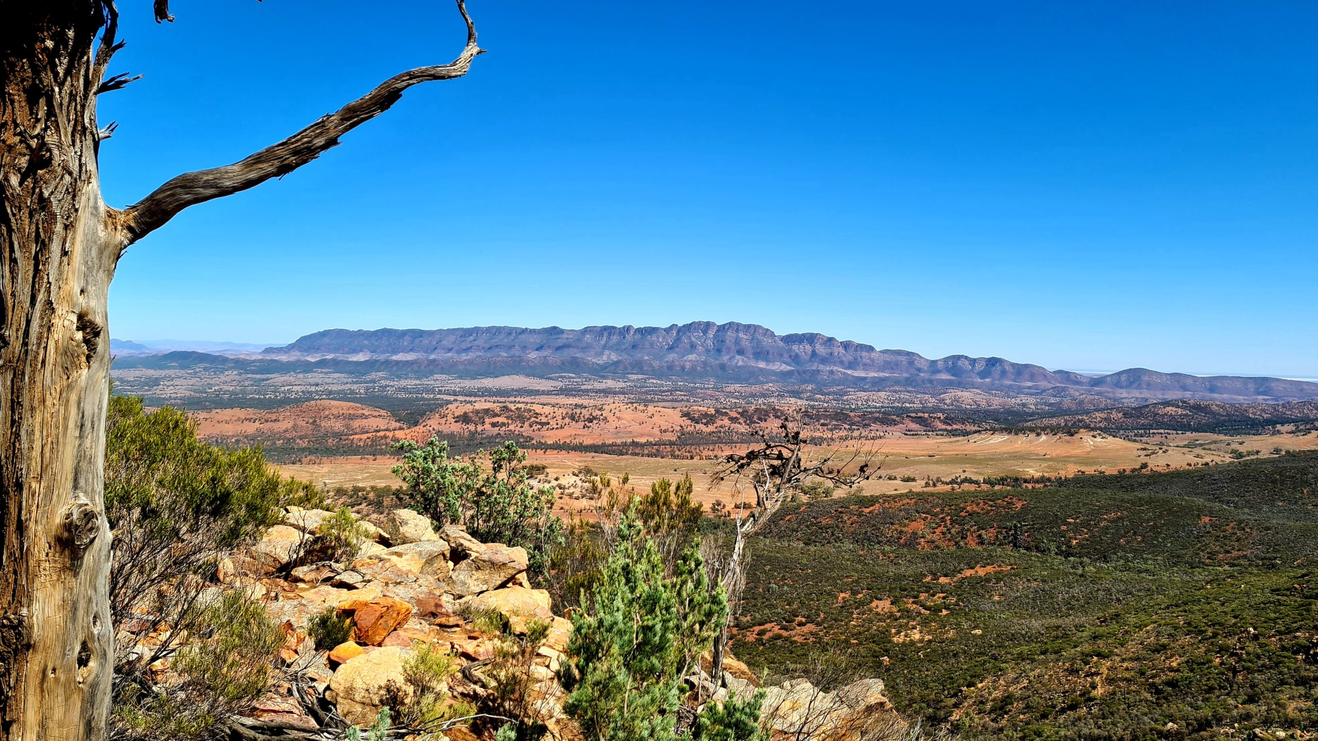 Szlaki piesze w Flinders Ranges Ramsley Bluff