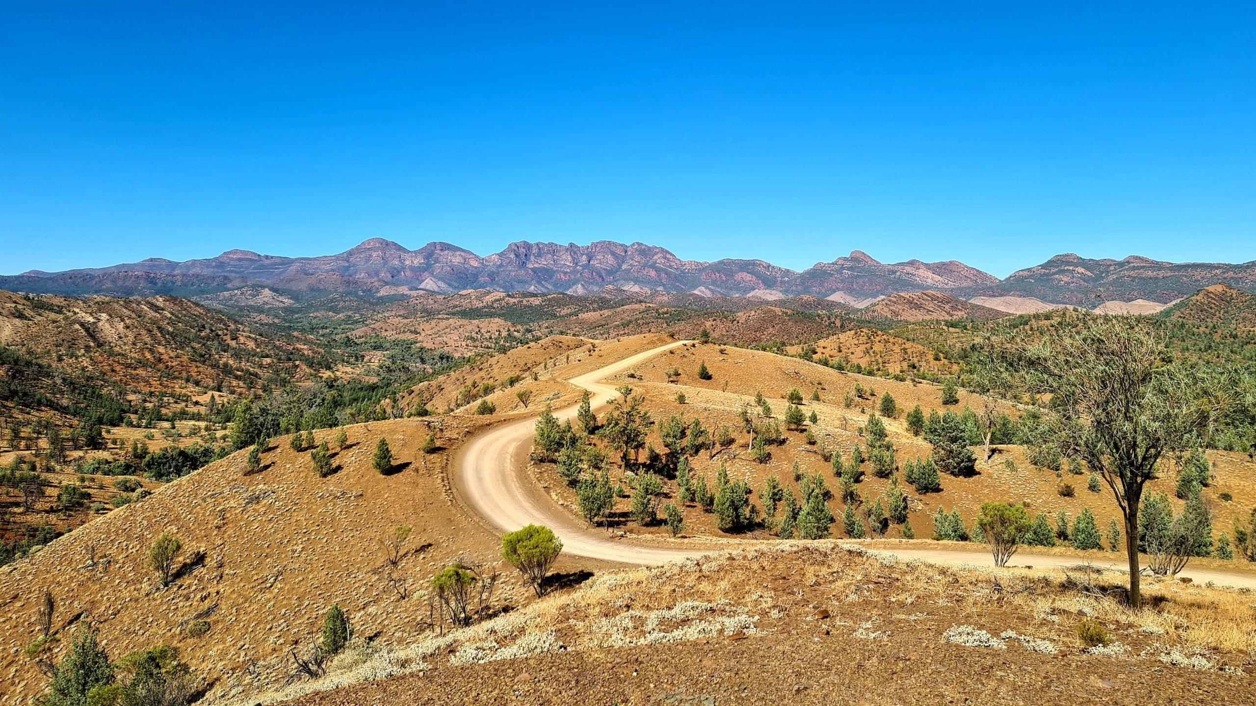 Park Narodowy Flinders Ranges Scenic Drive