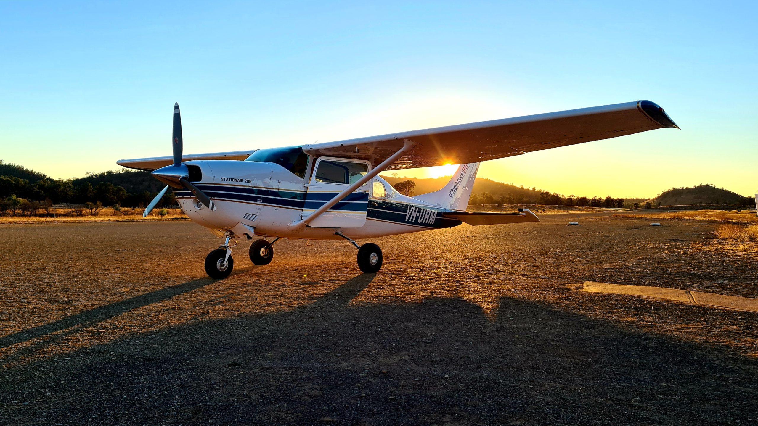 Park Narodowy Flinders Ranges Scenic Flight
