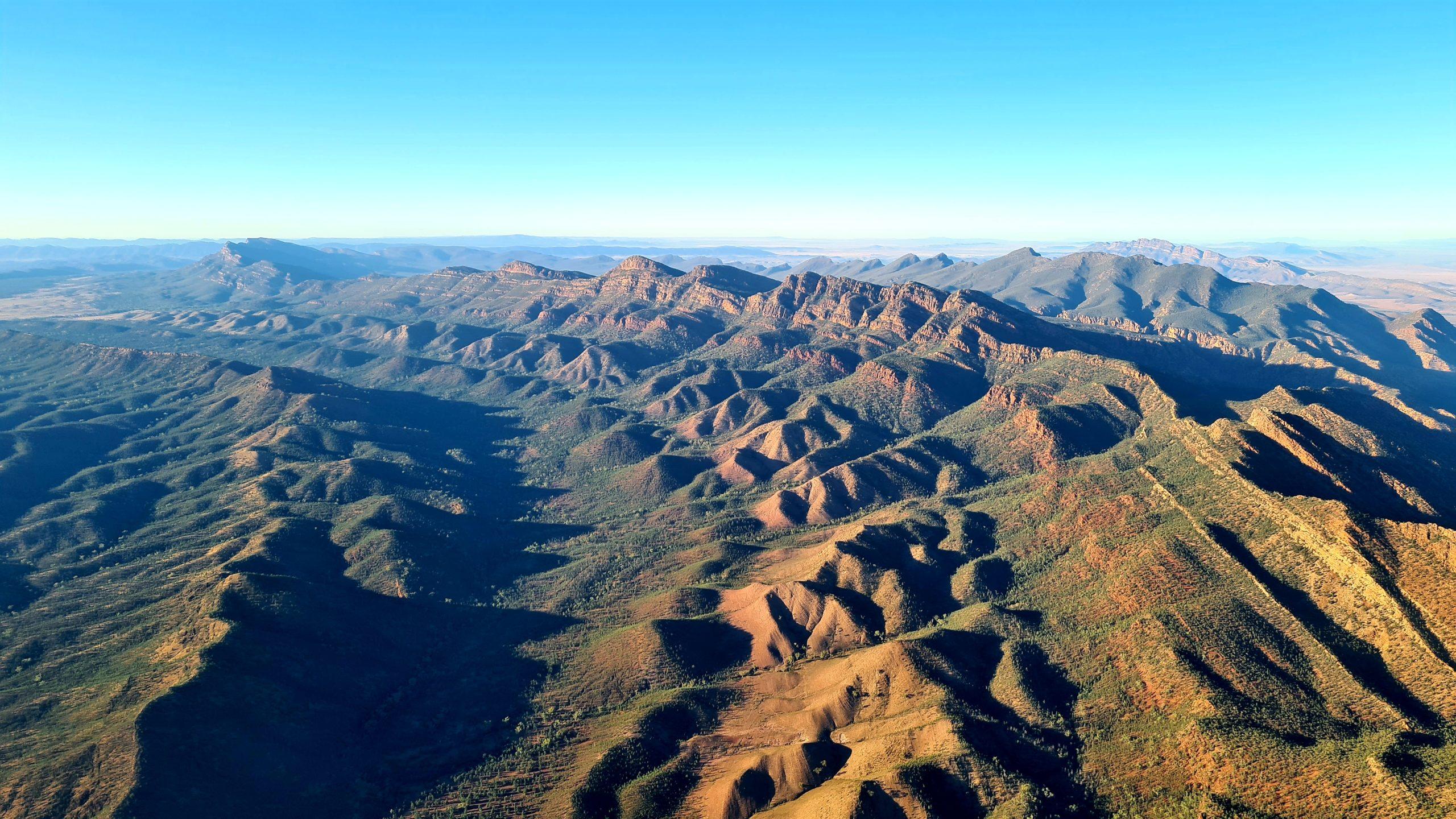 Flinders Ranges National Park Scenic Flight