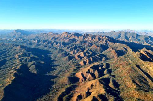 Szlaki piesze w Flinders Ranges