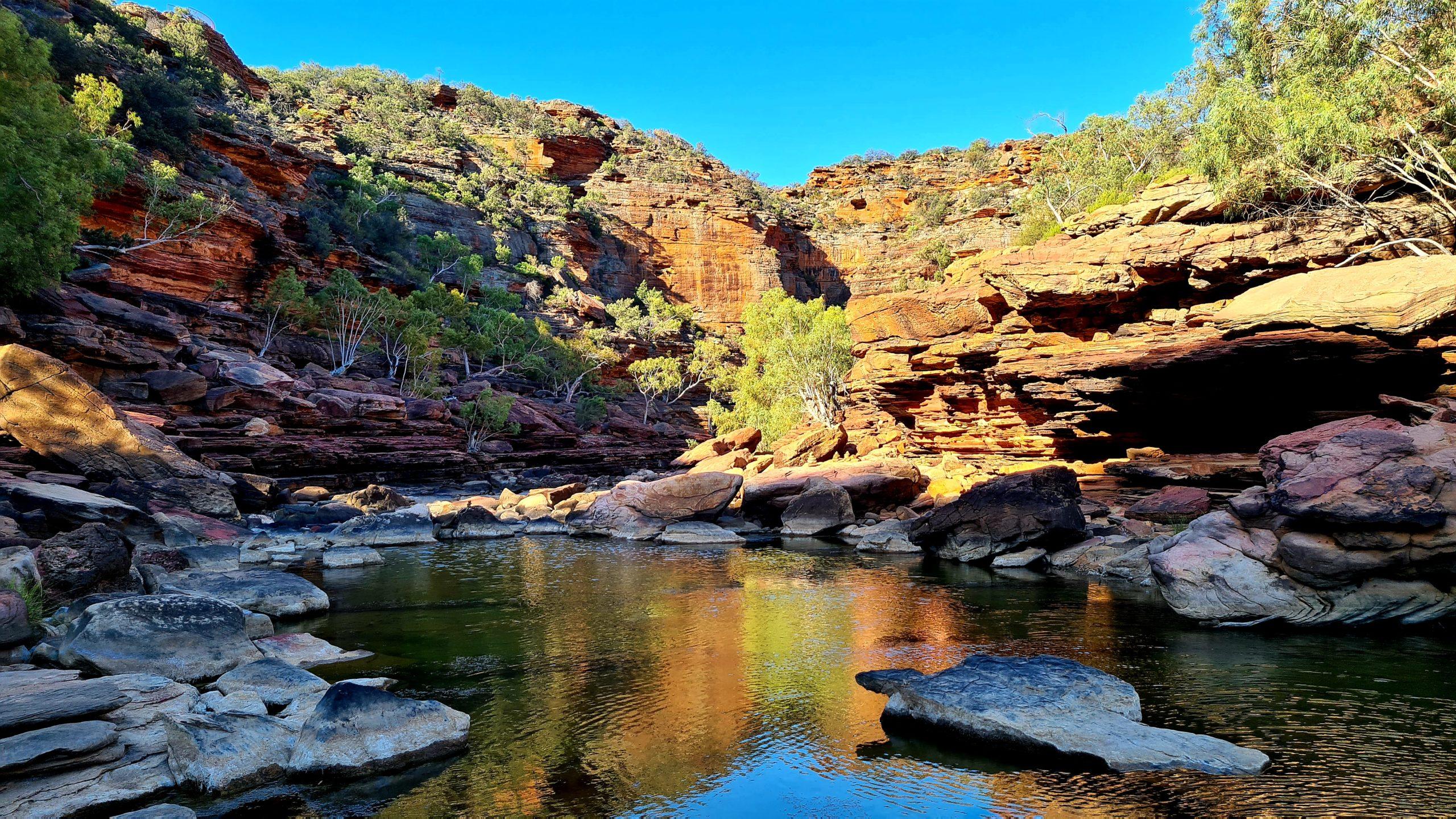 Park Narodowy Kalbarri Z Bend River Trail