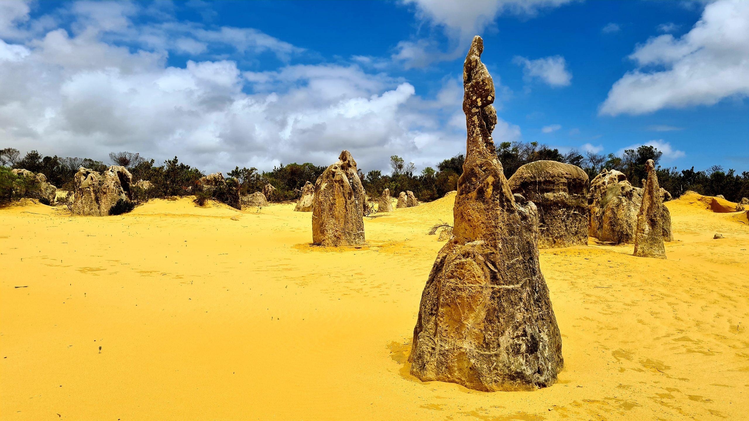 Okolice Cervantes w Zachodniej Australii